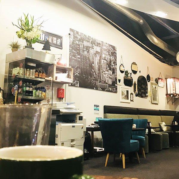 xpresso net coffee shop in central milton keynes