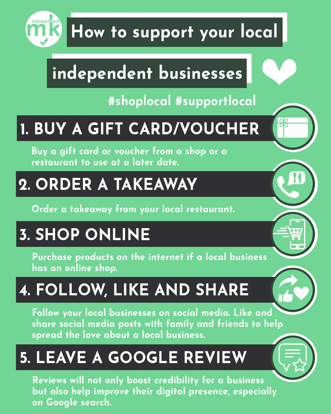 5 ways to support independent businesses during coronavirus