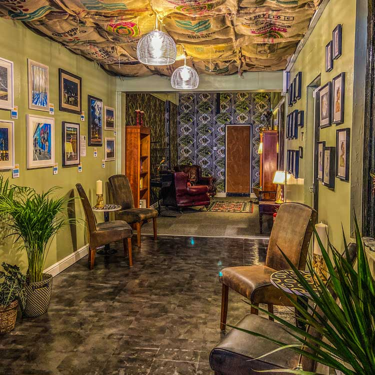 inside of bar bar black sheep independent coffee shop milton keynes