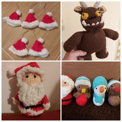Bespoke hand knitted gifts, toys and decorations in milton keynes