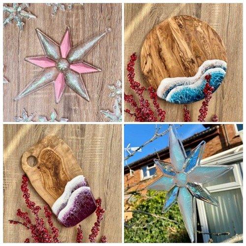 ch resin design christmas decorations milton keynes