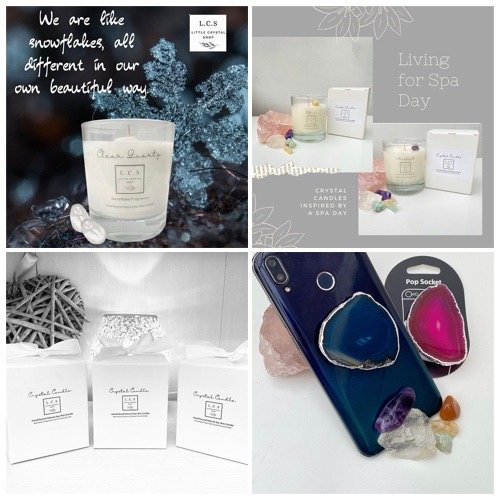crystal candles, wax melts and crystal jewellery in milton keynes